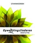 Gitaarakkoordenboek Grootletter  aanvulling 39 (771-782)