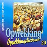 UITVERKOCHT!! CD20 Opwekkingsliederen