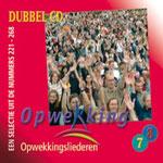 UITVERKOCHT!! Dubbel CD7-8 Opwekkingsliederen